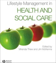 Cover of: Lifestyle management in health and social care |