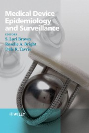 Cover of: Medical device epidemiology and surveillance