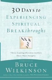 Cover of: 30 Days to Experiencing Spiritual Breakthroughs