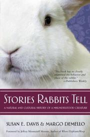 Cover of: Stories Rabbits Tell | Susan E. Davis, Margo Demello