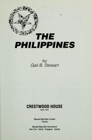 Cover of: The Philippines | Gail Stewart