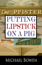Cover of: Putting Lipstick on a Pig