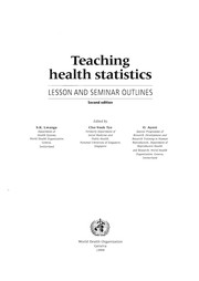Cover of: Teaching Health Statistics |