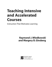 Cover of: Teaching intensive and accelerated courses