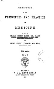 Cover of: Text-book of the Principles and Practice of Medicine