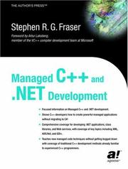 Cover of: Managed C++ and .NET Development | Stephen R. G. Fraser