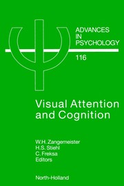 Cover of: Visual attention and cognition |