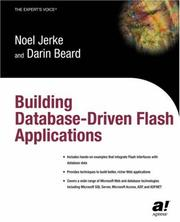 Cover of: Building database driven Flash applications