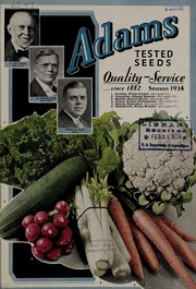 Cover of: Adams