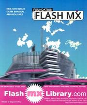 Cover of: Foundation Macromedia Flash MX | Sham Bhangal