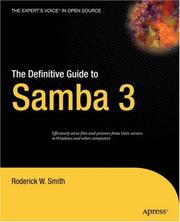 Cover of: The definitive guide to Samba 3