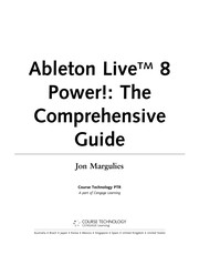 Cover of: Ableton Live 8 power! | Jon Margulies