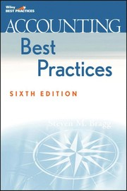 Cover of: Accounting best practices