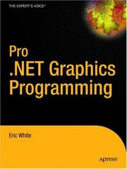 Cover of: Pro .NET 2.0 Graphics Programming | Eric White