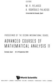 Cover of: Advanced courses of mathematical analysis II | International Conference on Mathematical Analysis in AndaluciМЃa (2nd 2004 Granada, Spain)