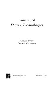 Cover of: Advanced drying technologies | Tadeusz Kudra