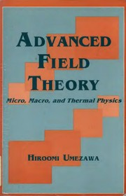 Cover of: Advanced field theory