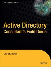 Cover of: Active Directory Field Guide | Laura E. Hunter