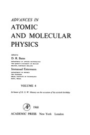 Cover of: Advances in atomic and molecular physics | David R. Bates