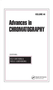 Cover of: Advances In Chromatography | Eli Grushka