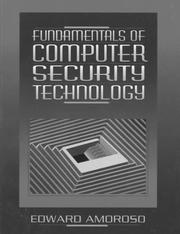 Cover of: Fundamentals of Computer Security Technology