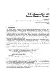 Cover of: Greedy algorithms | Witold Bednorz