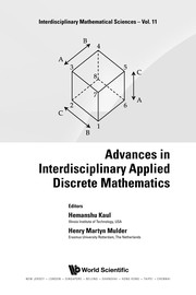 Cover of: Advances in interdisciplinary applied discrete mathematics | Hemanshu Kaul