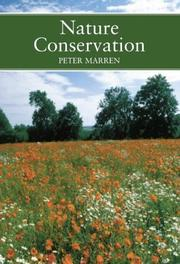 Cover of: Nature conservation