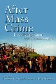 Cover of: After mass crime