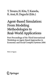 Cover of: Agent-based simulation | International Workshop on Agent-Based Approaches in Economic and Social Complex Systems (3rd 2004 Kyoto, Japan)