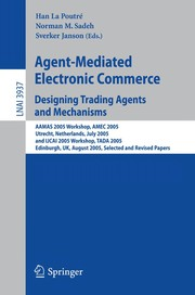 Cover of: Agent-mediated electronic commerce [VII] | AAMAS Workshop on Agent-Mediated Electronic Commerce (2005 Utrecht, Netherlands)