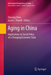 Cover of: Aging in China | Sheying Chen
