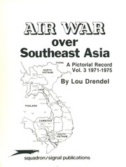 Cover of: Air War Over Southeast Asia | Lou Drendel