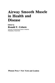 Cover of: Airway Smooth Muscle in Health and Disease | Ronald F. Coburn