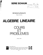 Cover of: Transformées de Laplace