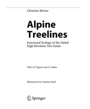 Cover of: Alpine Treelines | Christian Körner