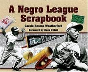 Cover of: A Negro League Scrapbook