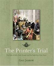 Cover of: The Printer's Trial