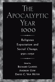 Cover of: The apocalyptic year 1000