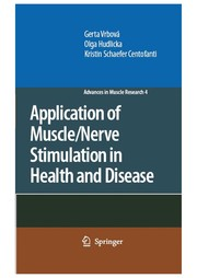 Cover of: Application of muscle/nerve stimulation in health and disease | Gerta VrbovaМЃ