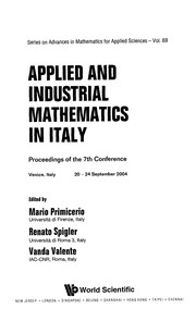 Cover of: Applied and industrial mathematics in Italy |