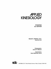 Cover of: Applied kinesiology | David S. Walther