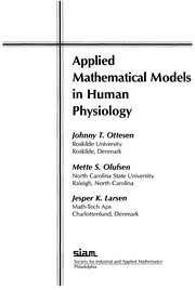 Cover of: Applied mathematical models in human physiology |