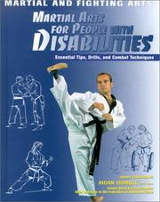 Cover of: Martial Arts for People With Disabilities (Martial and Fighting Arts)