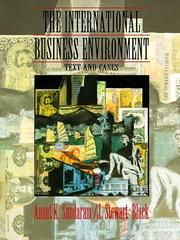 Cover of: The international business environment