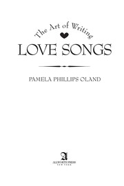 The art of writing love songs
