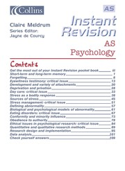 Cover of: AS psychology | Claire Meldrum