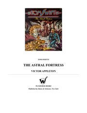 Cover of: Thea stral fortress | Victor Appleton