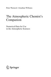 Cover of: The Atmospheric Chemist's Companion | Peter Warneck