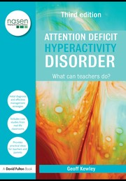 Cover of: Attention deficit hyperactivity disorder